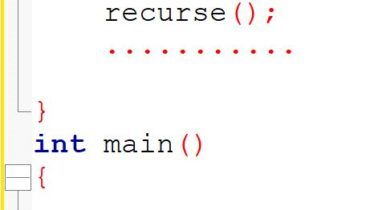 recursion fuction in c language with example Androwep-Tutorials